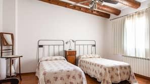 5 sovrum, strykjärn/strykbräda, gratis barnsängar och extrasängar