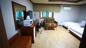객실 내 금고, 책상, 무료 WiFi