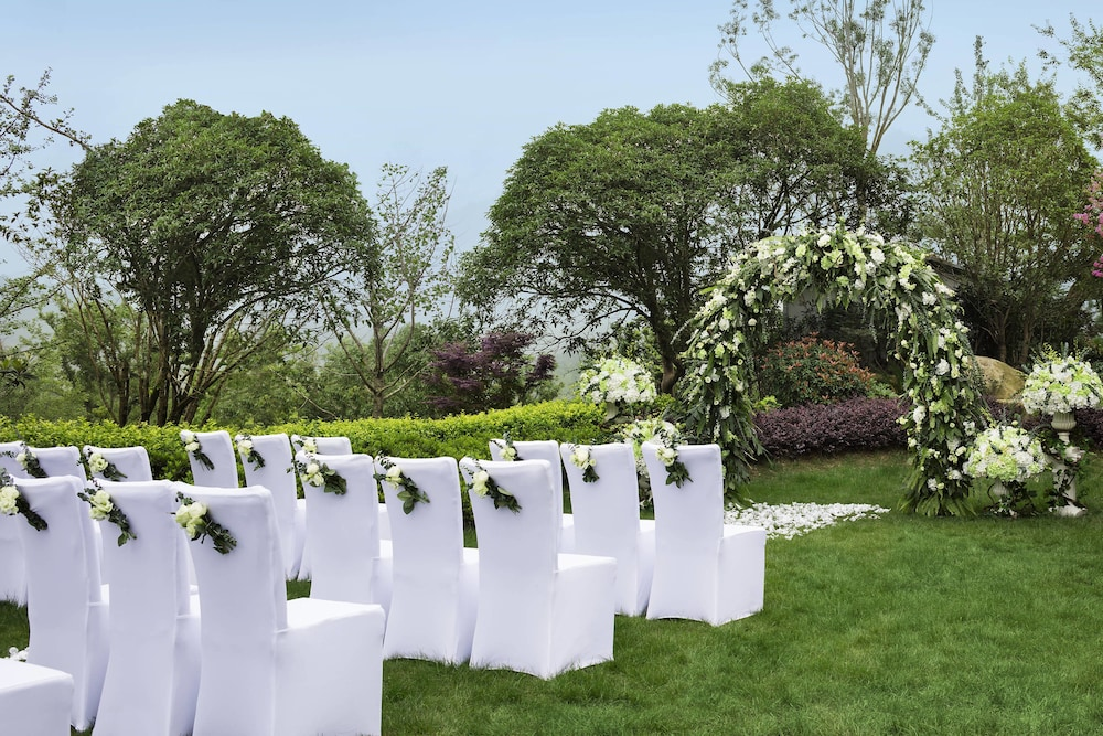 Outdoor Wedding Area, JW Marriott Hotel Zhejiang Anji