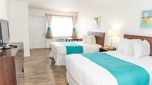 Premium bedding, free WiFi, bed sheets, wheelchair access