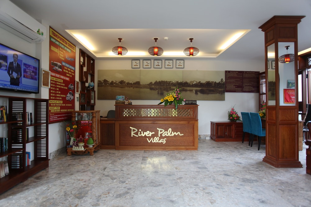Interior Entrance, Hoi An River Palm Hotel