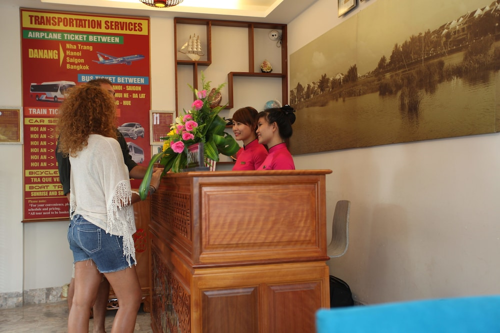 Check-in/Check-out Kiosk, Hoi An River Palm Hotel