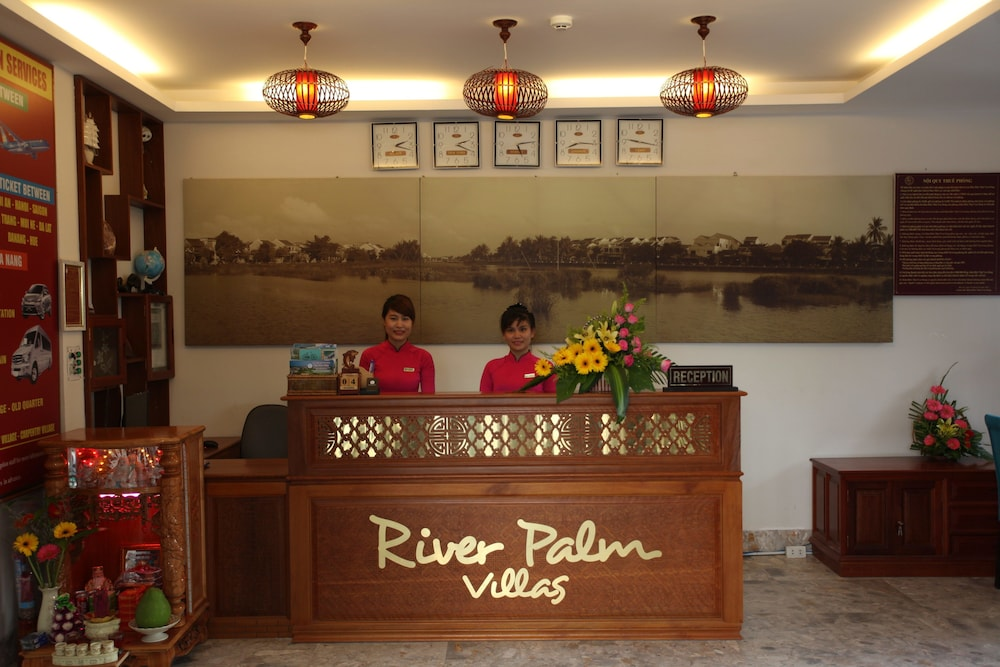 Reception, Hoi An River Palm Hotel