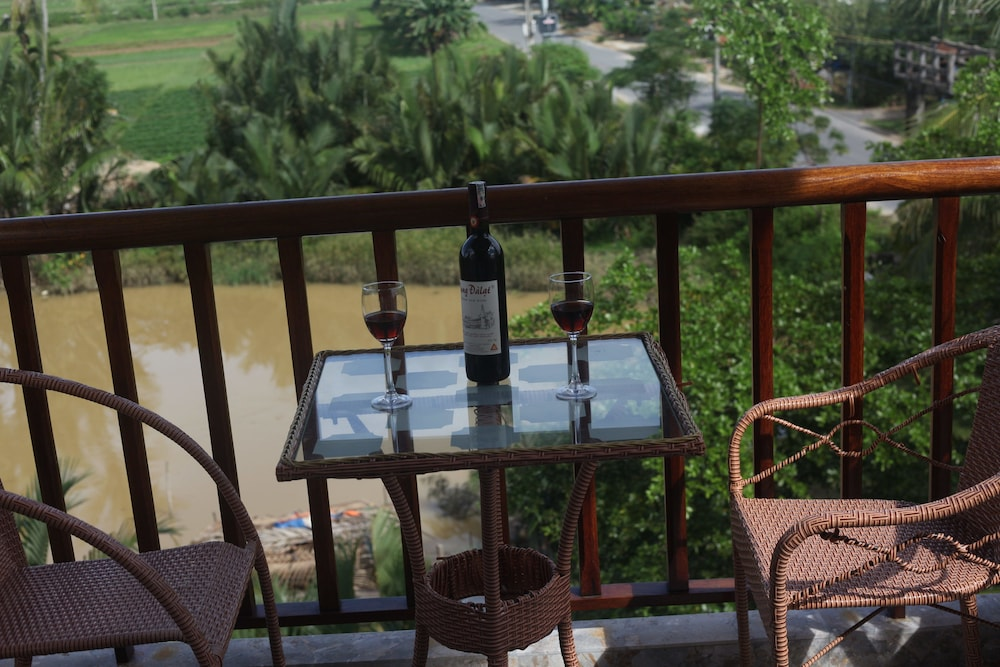View from Property, Hoi An River Palm Hotel