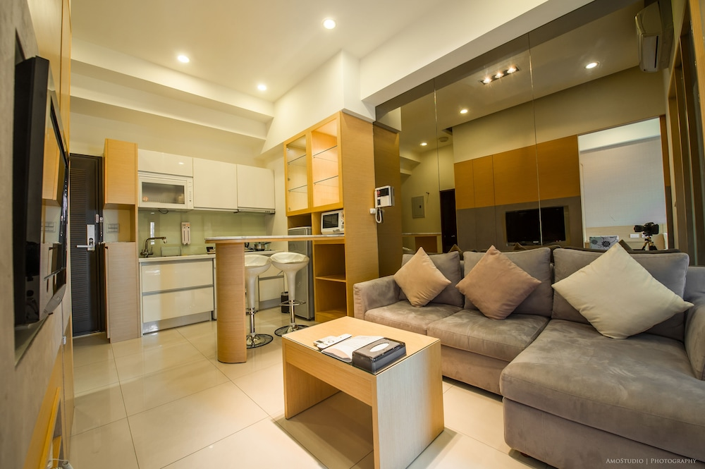 Living Area, CK Serviced Residence