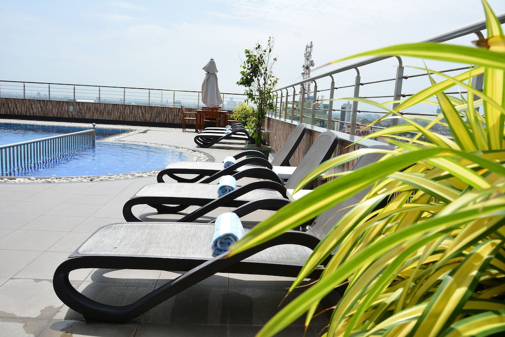 Pearl grand hotel pre os promo es e coment rios for Piscina no terraco e perigoso