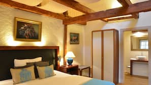 Select Comfort beds, blackout drapes, linens
