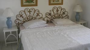 1 bedroom, in-room safe, iron/ironing board, free cribs/infant beds