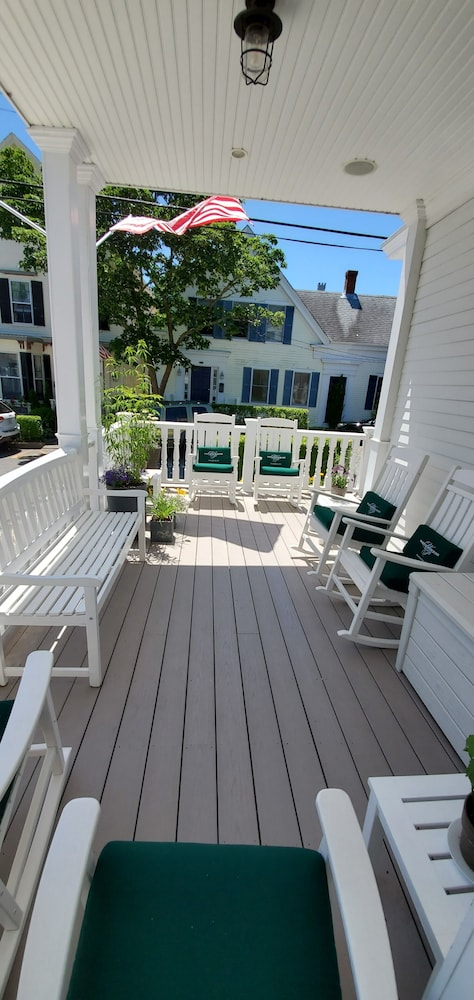 Porch, White Porch Inn