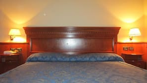 Free minibar items, in-room safe, free cribs/infant beds