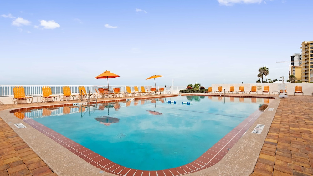 Pool, Best Western Plus Daytona Inn Seabreeze Oceanfront