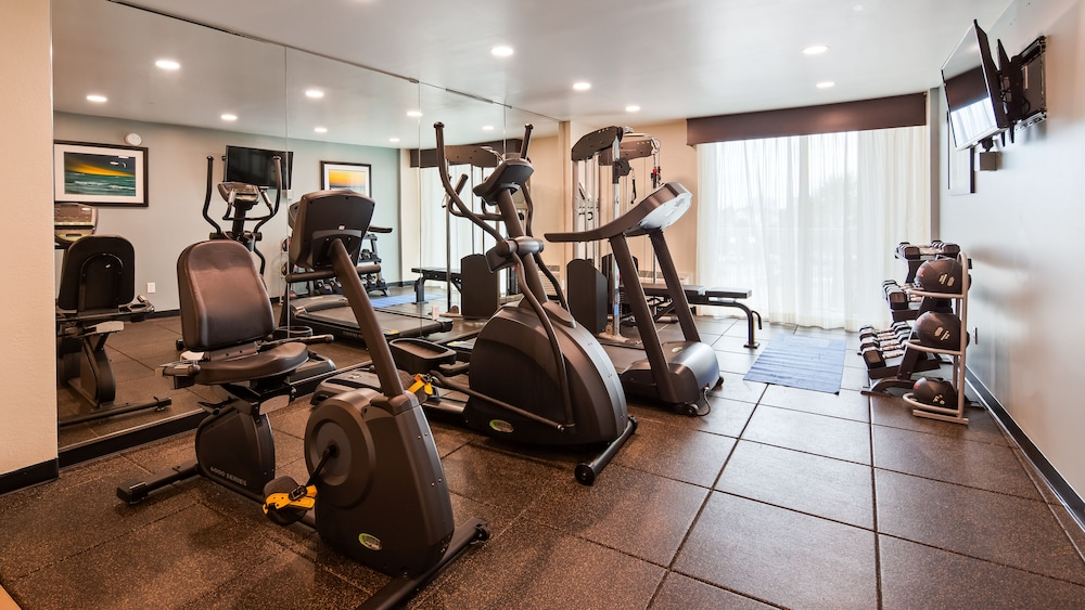 Fitness Facility, Best Western Plus Daytona Inn Seabreeze Oceanfront