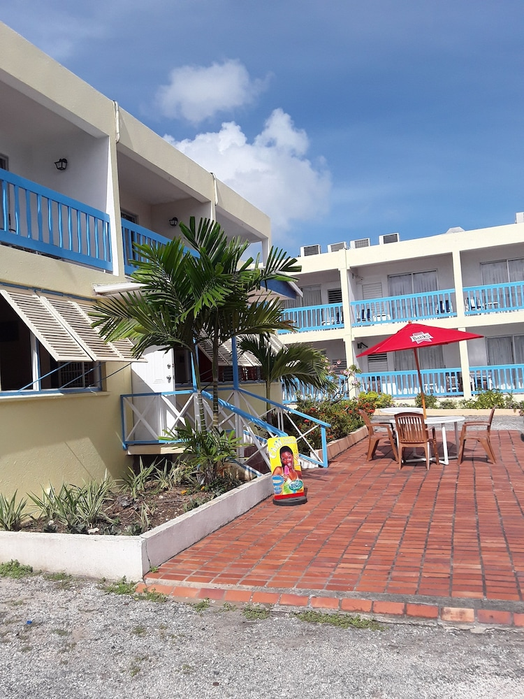 Exterior, Carib Blue Apartments