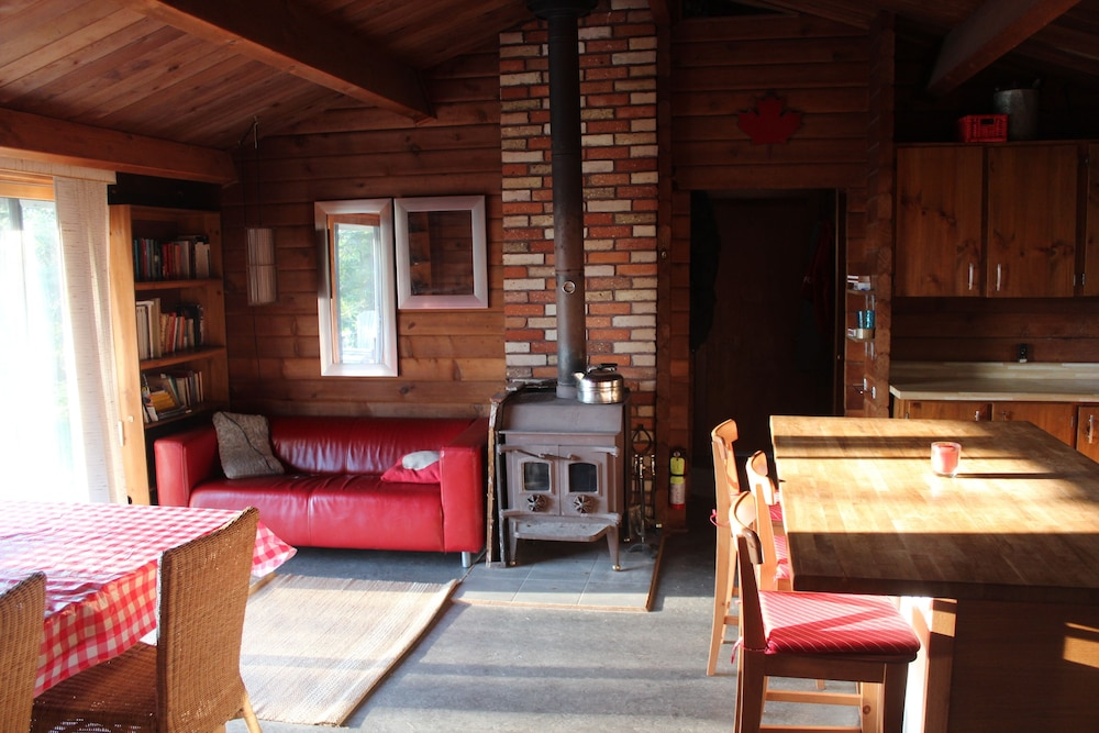Living Area, Algonquin Cottage Outpost
