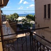 Blick vom Hotel