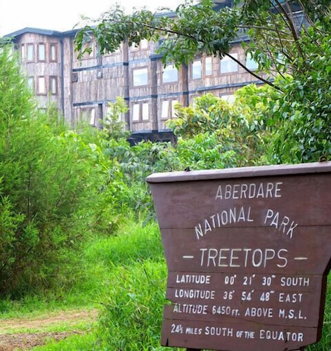 Property Entrance, Treetops