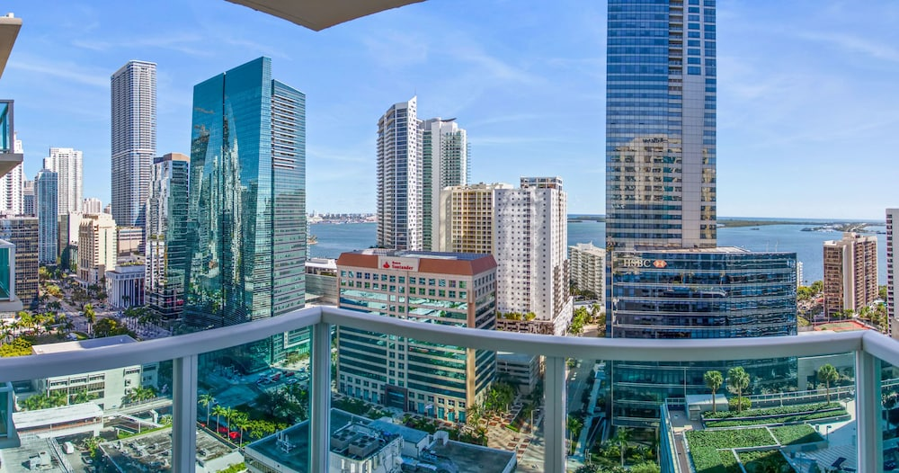 View from Room, OB Brickell Miami
