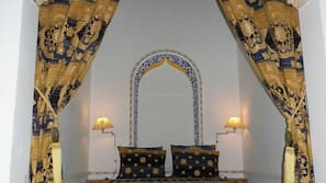 Premium bedding, individually decorated, blackout curtains