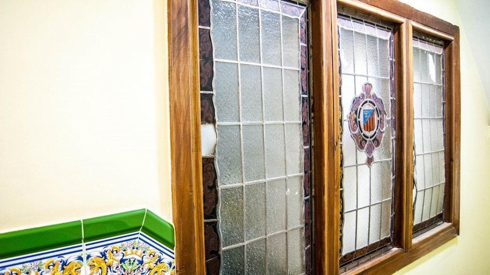 Detalle del interior hostal florida center