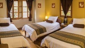 1 dormitorio, edredones de plumas, caja fuerte y decoración individual