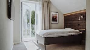 Individuell inredning, unika möbler, skrivbord och gratis wi-fi