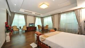 1 개의 침실, 무료 미니바 품목, 객실 내 금고, 책상