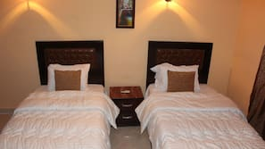 Premium bedding, rollaway beds, free WiFi
