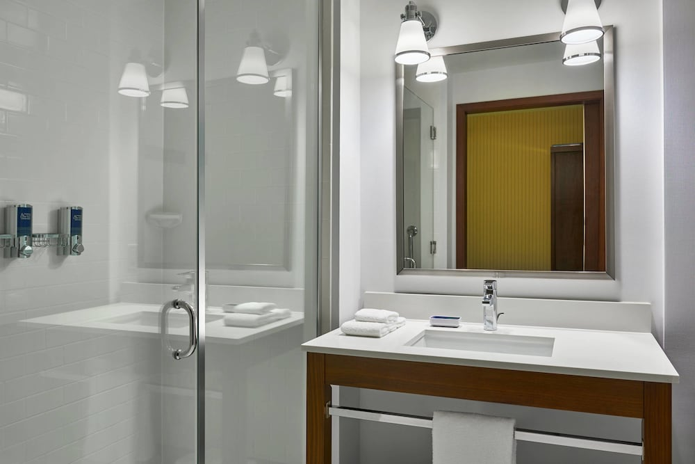 Bathroom, Four Points by Sheraton Fargo Medical Center