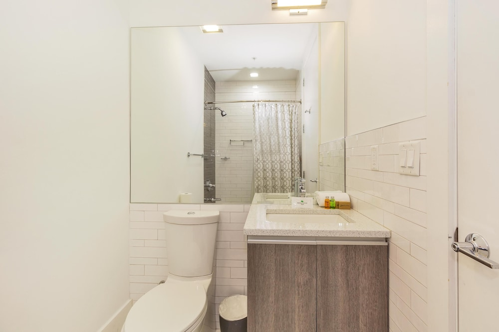 Bathroom, Dharma Home Suites Hoboken at Novia