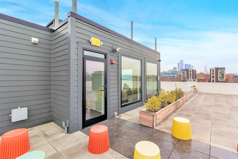 Terrace/Patio, Dharma Home Suites Hoboken at Novia