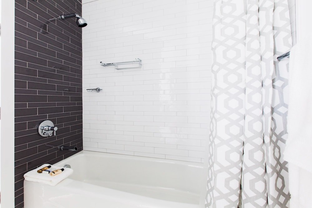 Bathroom Shower, Dharma Home Suites Hoboken at Novia