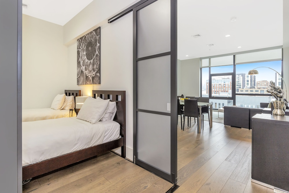 Room, Dharma Home Suites Hoboken at Novia