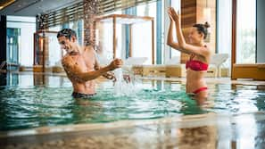 Indoor pool, open 6:00 AM to 10:00 PM, free pool cabanas