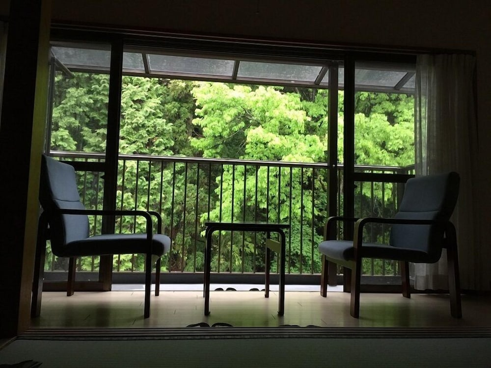 View from Room, Okumizuma Onsen