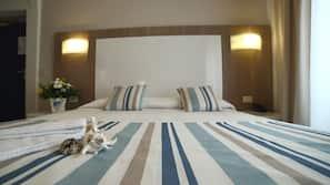 Italienische Bettbezüge von Frette, hochwertige Bettwaren, Zimmersafe