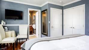 Premium bedding, Tempur-Pedic beds, iron/ironing board