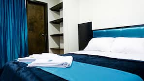 Premium bedding, in-room safe, iron/ironing board, free cots/infant beds