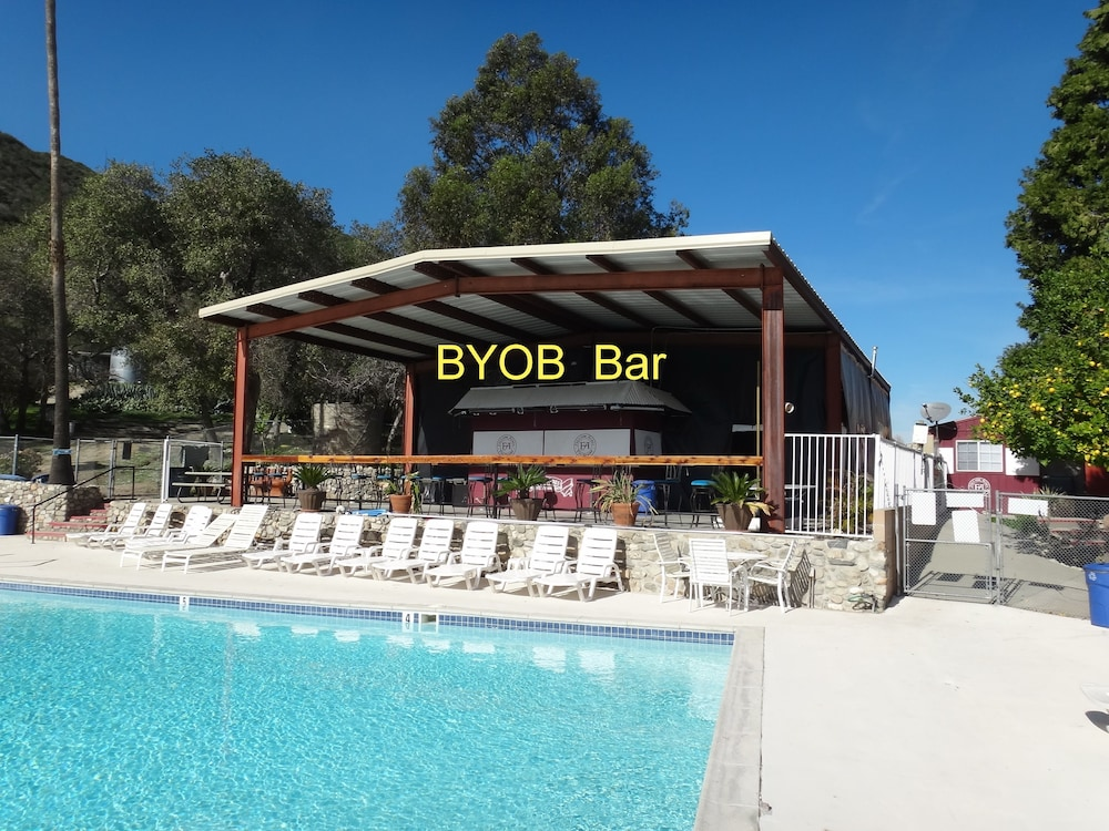 Poolside Bar, Freedom Acres Lifestyle (Swinger) Resorts - Adults Only
