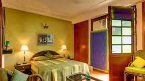 4 多间卧室、埃及棉床单、羽绒被、保险箱