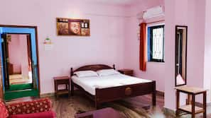 Memory foam beds, blackout drapes, free WiFi, bed sheets