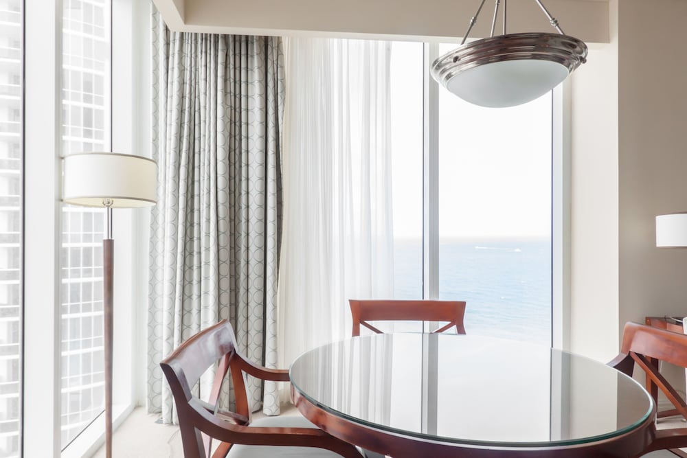 In-Room Dining, Private Ocean Condos at Trump Sunny Isles