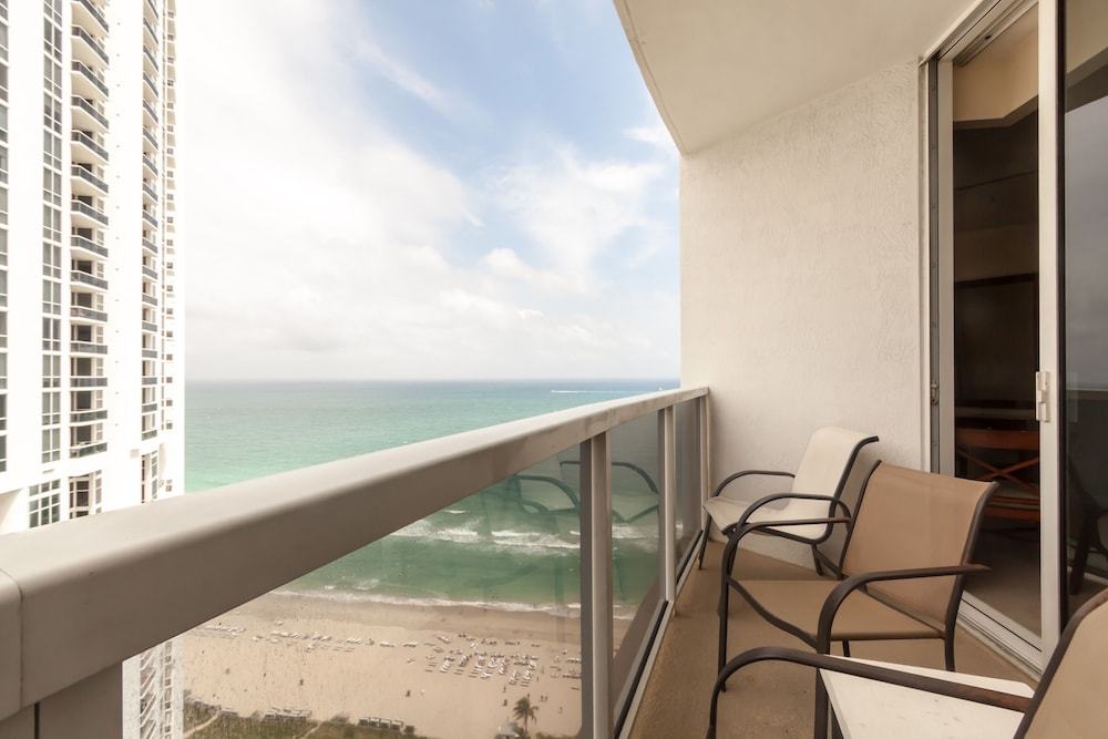 View from Property, Private Ocean Condos at Trump Sunny Isles