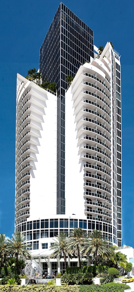 Front of Property, Private Ocean Condos at Trump Sunny Isles