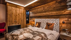 1 chambre, literie de qualité supérieure, bureau, Wi-Fi gratuit