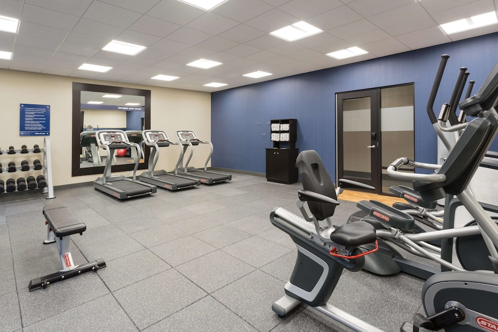 Fitness Facility, Hampton Inn & Suites West Des Moines/SW Mall Area