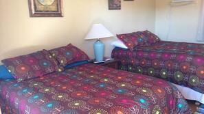 Hypo-allergenic bedding, memory foam beds, desk, free WiFi