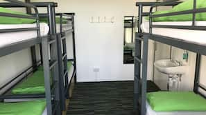 In-room safe, free cots/infant beds, linens, wheelchair access