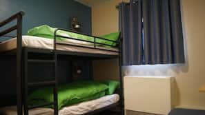 Free cots/infant beds, linens, wheelchair access