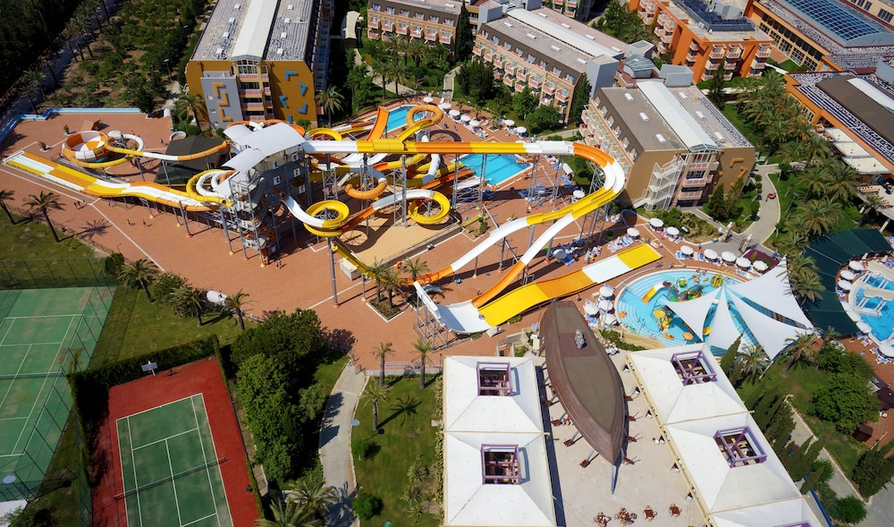 Aerial View, Pegasos World Hotel - All Inclusive