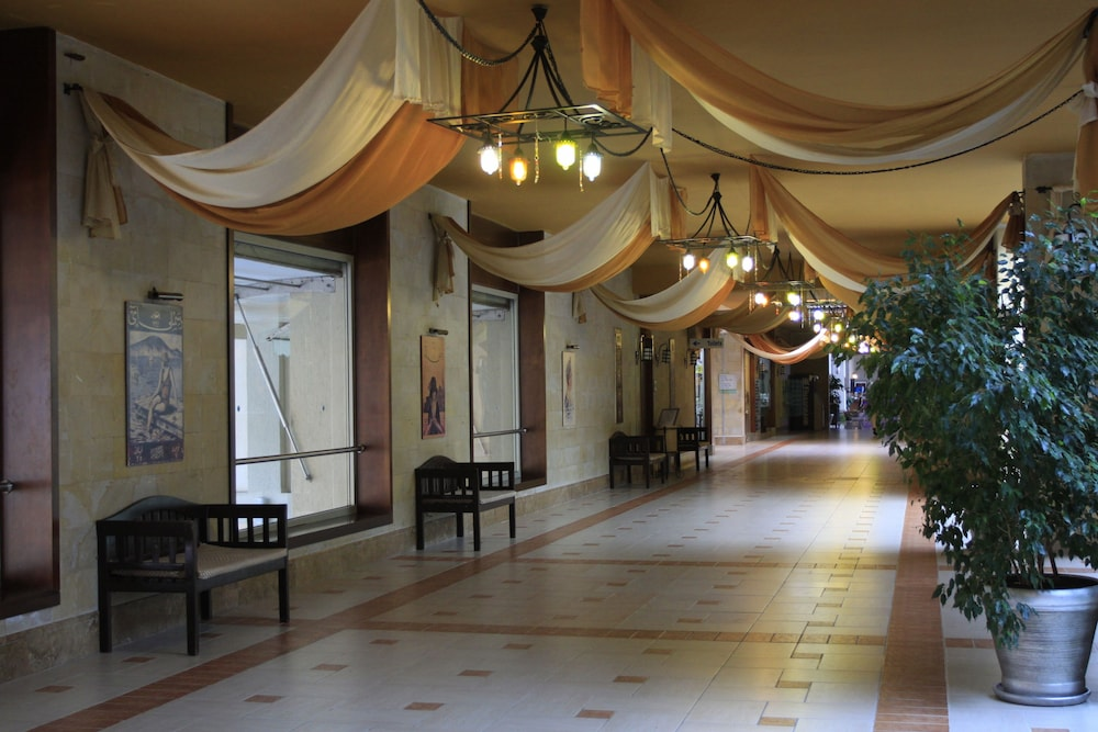 Hallway, Pegasos World Hotel - All Inclusive